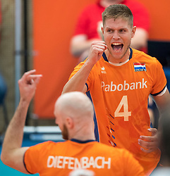 08-09-2018 NED: Netherlands - Argentina, Ede<br /> Second match of Gelderland Cup / Thijs ter Horst #4 of Netherlands
