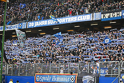 16.03.2013, Imtech Arena, Hamburg, GER, 1. FBL, Hamburger SV vs FC Augsburg, 26. Runde, im Bild Fans (Hamburger SV) // during the German Bundesliga 26th round match between Hamburger SV and FC Augsburg at the Imtech Arena, Hamburg, Germany on 2013/03/16. EXPA Pictures © 2013, PhotoCredit: EXPA/ Eibner/ Kolbert..***** ATTENTION - OUT OF GER *****