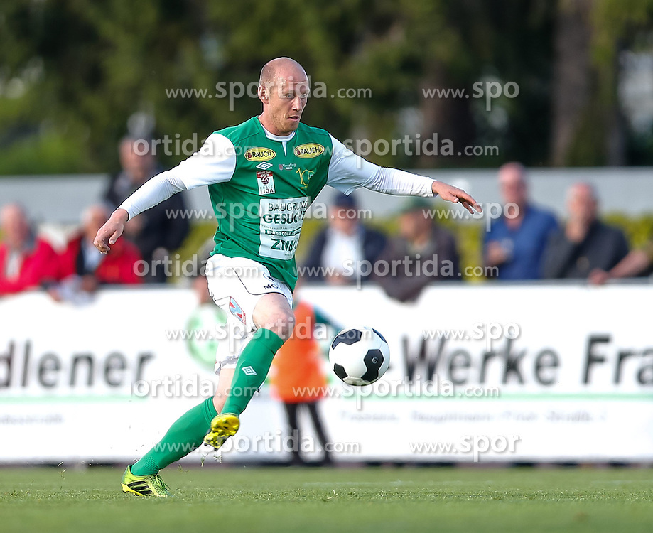 22.04.2014, Reichshofstadion, Lustenau, AUT, 2. FBL, SC Austria Lustenau vs FC Liefering, 30. Runde, im Bild Mario Bolter, (SC Austria Lustenau #24) during Austrian Second Bundesliga Football Match, 30th round, between SC Austria Lustenau vs FC Liefering the Reichshofstadion, Lustenau, Austria on 2014/04/22. EXPA Pictures © 2014, PhotoCredit: EXPA/ Peter Rinderer