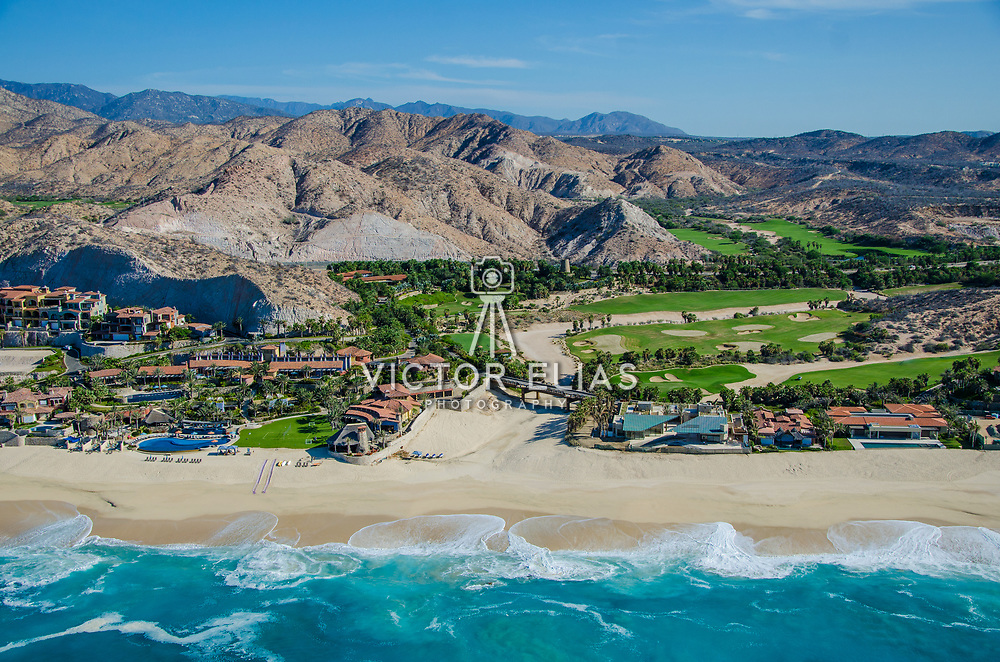 Aerial view of El Dorado Golf & Beach Club. Los Cabos.