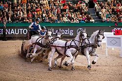 CHARDON Bram (NED), Casper, Dreef Inca, Incitato Pandur, Siglavy Capriola Kapitany<br /> Leipzig - Partner Pferd 2019<br /> Sparkassen-Trophy<br /> FEI Driving World Cup<br /> 20. Januar 2019<br /> © www.sportfotos-lafrentz.de/Stefan Lafrentz