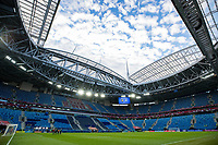 Russia vs New Zealand SAO PETERSBURGO, MO - 17.06.2017: RUSSIA VS NEW ZEALAND - Structure of the stadium after match between Russia and New Zealand valid for the first round of the 2017 Confederations Cup on Saturday (17), held at the Krestovsky Stadium (Zenit Arena) in St. Petersburg, Russia<br /> stadion , illustrasjon<br /> <br /> <br /> Norway only