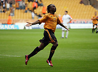 Photo: Rich Eaton.<br /> <br /> Wolverhampton Wanderers v Luton Town. Coca Cola Championship. 26/08/2006. Jemal Johnson of Wolves celbrates his goal