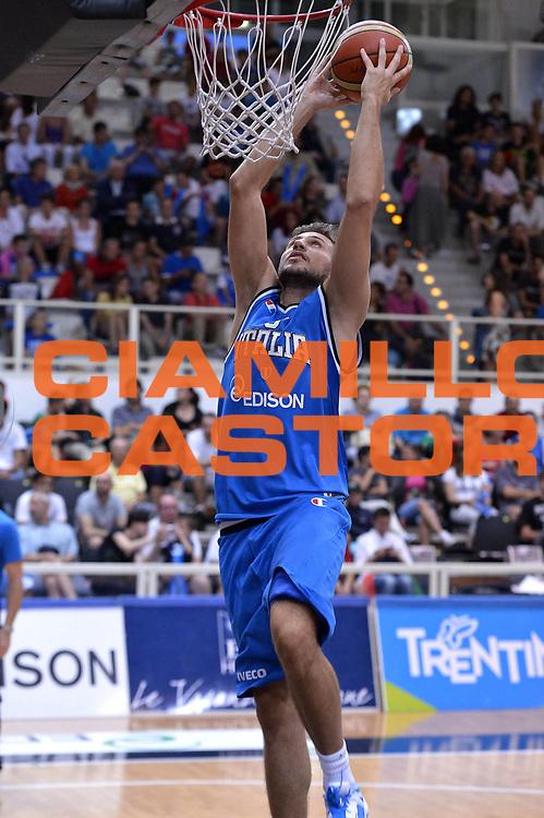 DESCRIZIONE : Trento Basket Cup 2013 Italia Polonia<br /> GIOCATORE : Stefano Mancinelli<br /> CATEGORIA : Schiacciata<br /> SQUADRA : Nazionale Italia Uomini Maschile<br /> EVENTO : Trento Basket Cup 2013 Italia Polonia<br /> GARA : Italia Polonia<br /> DATA : 09/08/2013<br /> SPORT : Pallacanestro<br /> AUTORE : Agenzia Ciamillo-Castoria/GiulioCiamillo<br /> Galleria : FIP Nazionali 2013<br /> Fotonotizia : Trento Basket Cup 2013 Italia Polonia<br /> Predefinita :