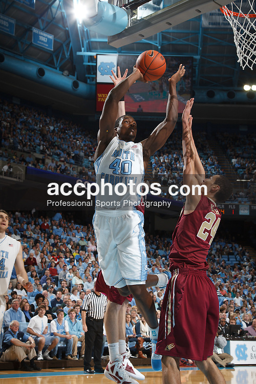 CHAPEL HILL, NC - DECEMBER 29: Harrison Barnes #40 of the North Carolina Tar Heels scores against the Elon Phoenix on December 29, 2011 at the Dean E. Smith Center in Chapel Hill, North Carolina. North Carolina won 62-100. (Photo by Peyton Williams/UNC/Getty Images) *** Local Caption *** Harrison Barnes
