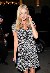 Donna Air attends Xperia Z3 Launch Party as Sony celebrates the launch of its new Xperia Z3 smartphone at Aqua Nueva, 30 Argyll Street, London W18 on Thursday 25th September 2014
