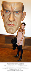 Model LIBERTY ROSS at an exhibition in London on 23rd March 2004.PSS 183