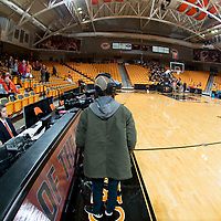 BUIES CREEK, NC - November 26th, 2017 - Campbell Camels and USC Upstate at Gilbert Craig Gore Arena in Buies Creek, NC. Photo By Bennett Scarborough