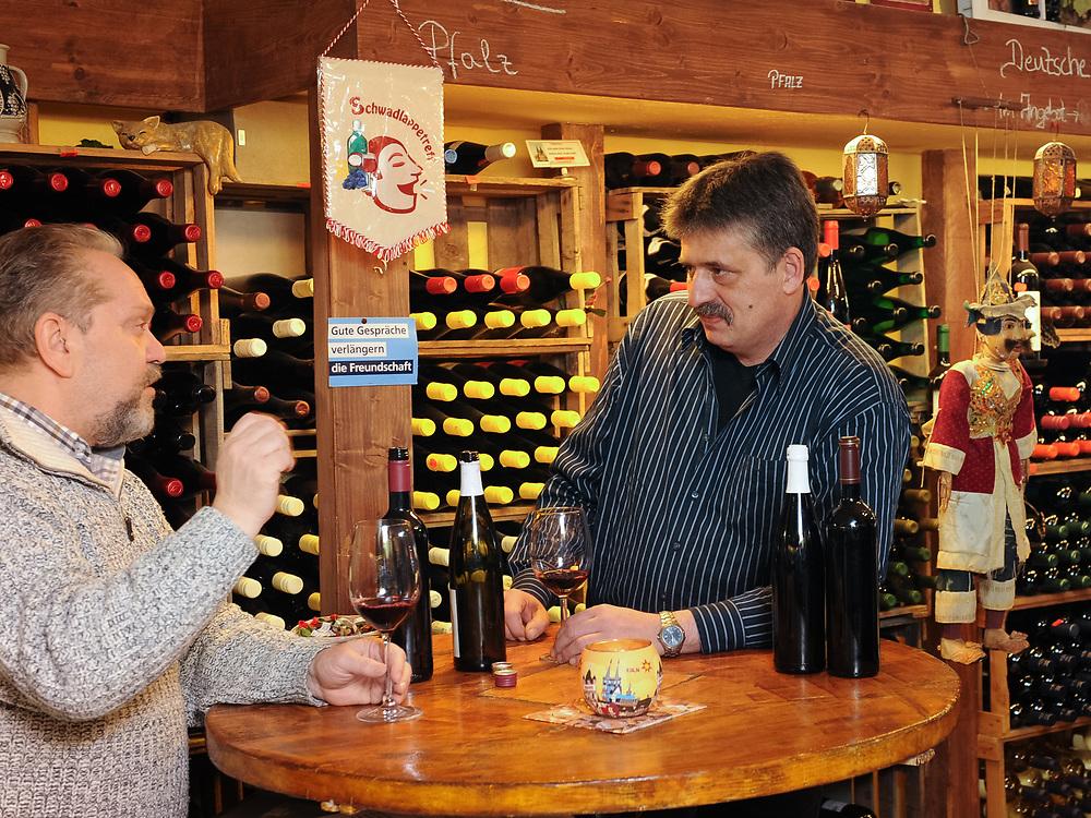 Markenweine vom Winzermeister Markus Weber fuer den Weinfachhandel