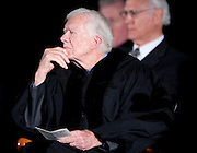 """Former U.S. President and Nobel Peace laureate Jimmy Carter and former First Lady Rosalynn Carter received the Mahatma Gandhi Center for Global Nonviolence's top honor, the second Mahatma Gandhi Global Nonviolence Award, September 21, 2009, the International Day of Peace.  . .The award was presented at the James Madison University Convocation Center in Harrisonburg, VA...Following the award presentation President Carter delivered his  Gandhi Award Lecture entitled """"The Path to Peace in the Middle East."""""""