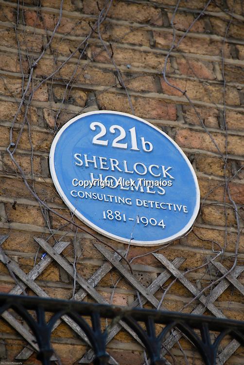 Baker Street 221, Sherlock Holmes house in London, United Kingdom