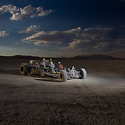 Burning Man Lit Shoot