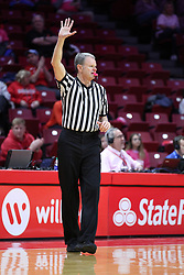 NORMAL, IL - February 10: Charlie Hust<br />  during a college women's basketball Play4Kay game between the ISU Redbirds and the Indiana State Sycamores on February 10 2019 at Redbird Arena in Normal, IL. (Photo by Alan Look)