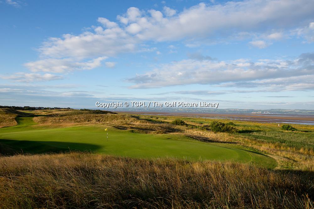 13th par 3 Royal Liverpool during autumn 2013,Hoylake,Whirral,England.Venue for The Open Championship 2014.