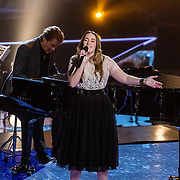 NLD/Hilversum/20170120 - 2de liveshow The Voice of Holland 2017, Katell Chevalier