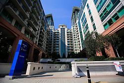 UK ENGLAND LONDON 5SEP13 - General view of buildings  at Nine Elms Lane, Vauxhall, central London.<br /> <br /> jre/Photo by Jiri Rezac<br /> <br /> &copy; Jiri Rezac 2013