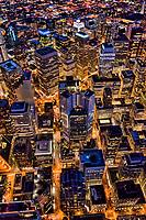Urban Core of Downtown San Francisco