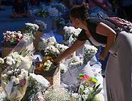 Vigil For The Nine Stabbing Victims - Idaho - 02 July 2018