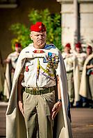 Lieutenant-Colonel Jacques Demau<br /> The 1st Spahis Regiment organized the commemoration of the Battle of Uskub on September 29, in memory of the commitment of their elders in Macedonia in 1918.<br /> The Uskub maneuver, today Skopje, is an attack by the Allied cavalry between 24 and 30 September 1918 in Macedonia, to cut the Bulgarian army in two, later leading Bulgaria to sign the armistice on September 29th.<br /> This commemoration took place in the presence of Philippe Loiacono, recently named General Military Governor of Lyon<br /> <br /> Le 1er&nbsp;r&eacute;giment de Spahis a organis&eacute; les comm&eacute;morations de la bataille d&rsquo;Uskub le 29 septembre, en souvenir de l&rsquo;engagement de leurs anciens en Mac&eacute;doine en 1918.<br /> En effet, la man&oelig;uvre d&rsquo;Uskub, aujourd&rsquo;hui Skopje est une attaque men&eacute;e par la cavalerie alli&eacute;e entre le 24 et le 30 septembre 1918 en Mac&eacute;doine, afin de couper en deux l&rsquo;arm&eacute;e bulgare, amenant par la suite la Bulgarie &agrave; signer l&rsquo;armistice le 29 septembre.<br /> Cette comm&eacute;moration a eu lieu en pr&eacute;sence de Philippe Loiacono, nouvellement nomm&eacute; g&eacute;n&eacute;ral Gouverneur militaire de Lyon<br /> <br /> En tant qu&rsquo;Officier G&eacute;n&eacute;ral de Zone de D&eacute;fense et de S&eacute;curit&eacute; (OGZDS), le g&eacute;n&eacute;ral de corps d&rsquo;arm&eacute;e Philippe Loiacono, Gouverneur militaire de Lyon, est charg&eacute; de la sauvegarde et de la participation des forces arm&eacute;es &agrave; la d&eacute;fense du territoire national, sous l&rsquo;autorit&eacute; du chef d&rsquo;&Eacute;tat-major des arm&eacute;es (CEMA).Philippe Loiacono, g&eacute;n&eacute;ral Gouverneur militaire de Lyon