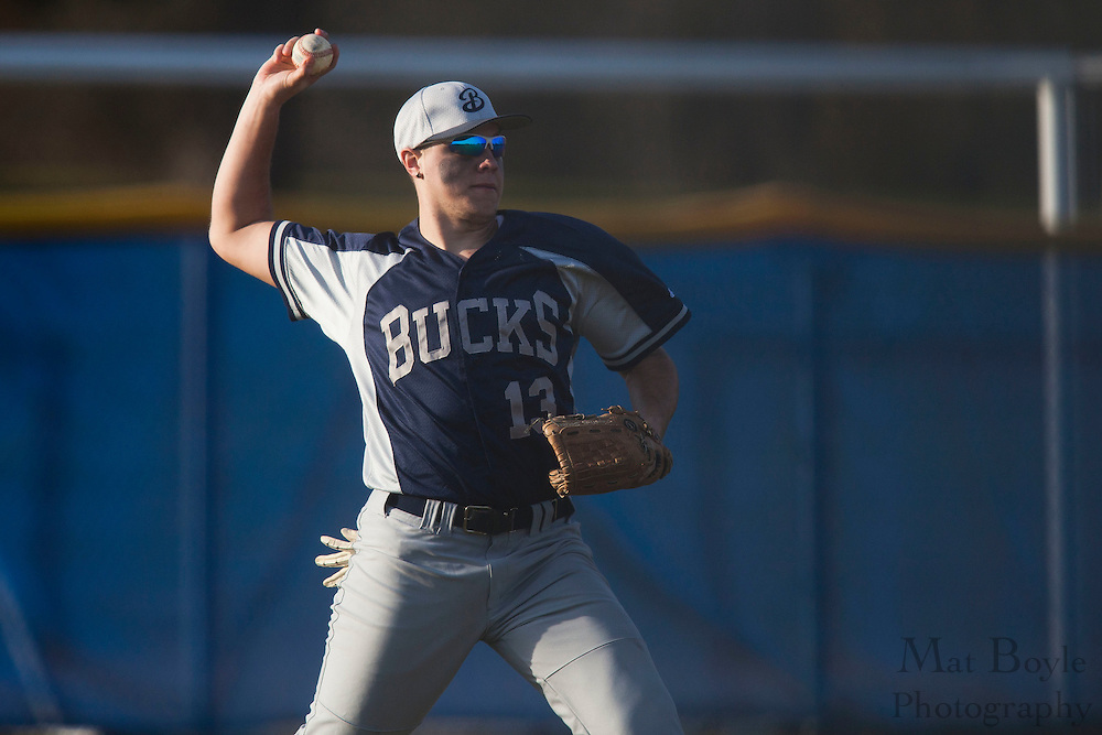 Gloucester County College Baseball hosts Bucks County College  on Wednesday March 7, 2012 in Sewell, NJ. (photo / Mat Boyle)