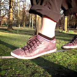 Slacklining Pro-Shoes :)