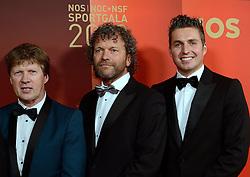 17-12-2013 ALGEMEEN: SPORTGALA NOC NSF 2013: AMSTERDAM<br /> In de Amsterdamse RAI vindt het traditionele NOC NSF Sportgala weer plaats. Op deze avond zullen de sportprijzen voor beste sportman, sportvrouw, gehandicapte sporter, talent, ploeg en trainer worden uitgereikt / Vakjury NOC NSF met John Volkers, Ewoud van Winsen en Pieter van den Hoogenband<br /> ©2013-FotoHoogendoorn.nl