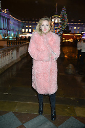 PORTIA FREEMAN at Skate At Somerset House with Fortnum & Mason on 16th November 2016.
