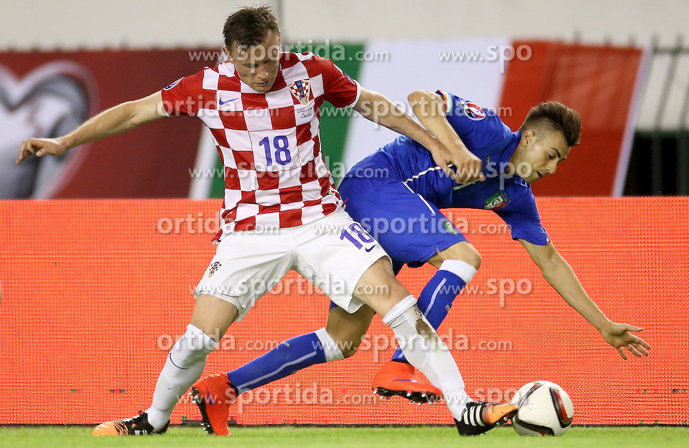 12.06.2015, Stadion Poljud, Split, CRO, UEFA Euro 2016 Qualifikation, Kroatien vs Italien, Gruppe H, im Bild Ivica Olic // during the UEFA EURO 2016 qualifier group H match between Croatia and and Italy at the Stadion Poljud in Split, Croatia on 2015/06/12. EXPA Pictures &copy; 2015, PhotoCredit: EXPA/ Pixsell/ Igor Kralj<br /> <br /> *****ATTENTION - for AUT, SLO, SUI, SWE, ITA, FRA only*****