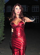 03.APRIL.2011. LONDON<br /> <br /> THE ONLY WAY IS ESSEX STAR AMY CHILDS DRESSED AS THE CARTOON CHARACTER JESSICA RABBIT ARRIVING AT THE HARRY DERBRIDGE 17TH FANCY DRESS BIRTHDAY PARTY IN ESSEX.<br /> <br /> BYLINE: EDBIMAGEARCHIVE.COM<br /> <br /> *THIS IMAGE IS STRICTLY FOR UK NEWSPAPERS AND MAGAZINES ONLY*<br /> *FOR WORLD WIDE SALES AND WEB USE PLEASE CONTACT EDBIMAGEARCHIVE - 0208 954 5968*