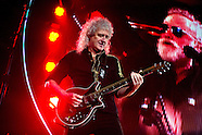 British band Queen and Adam Lambert at the Ziggo