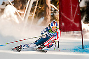 Lindsey Vonn of the United States competes in the Women's Downhill on Franz's Downhill course during the 2010 Vancouver Winter Olympics in Whistler, British Columbia, Wednesday, Feb. 17, 2010. Vonn won the gold medal with a time of 1:44.19.
