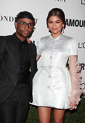 Glamour Celebrates 2016 Women of the Year Awards - Los Angeles.<br /> 14 Nov 2016<br /> Pictured: Zendaya Coleman, Law Roach.<br /> Photo credit: Jaxon / MEGA<br /> <br /> TheMegaAgency.com<br /> +1 888 505 6342