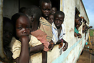 displaced children in Uganda