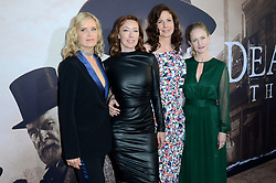 May 14, 2019 - Los Angeles, CA, USA - LOS ANGELES - MAY 14:  Kim Dickens, Molly Parker, Robin Weigert, Paula Malcomson at the ''Deadwood'' HBO Premiere at the ArcLight Hollywood on May 14, 2019 in Los Angeles, CA (Credit Image: © Kay Blake/ZUMA Wire)
