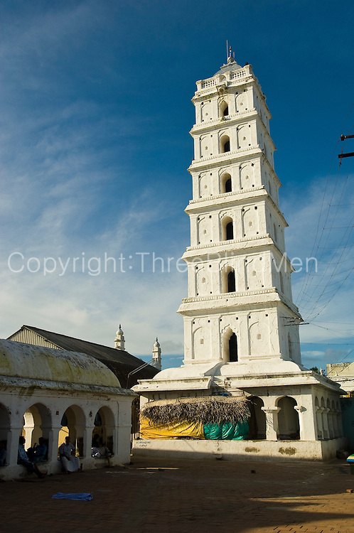 Minaret at Dargah Shareef.