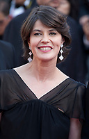 Irene Jacob arriving to the Closing Ceremony and awards at the 70th Cannes Film Festival Sunday 28th May 2017, Cannes, France. Photo credit: Doreen Kennedy