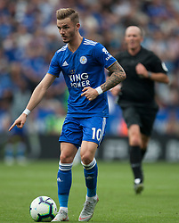 James Maddison of Leicester City in action - Mandatory by-line: Jack Phillips/JMP - 18/08/2018 - FOOTBALL - King Power Stadium - Leicester, England - Leicester City v Wolverhampton Wanderers - English Premier League