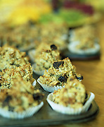 Morning muffins at In:Spa Yorkshire Yoga Retreat for Condé Nast Traveller