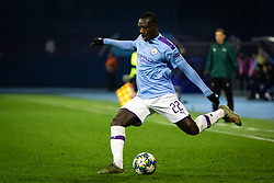 Benjamin Mendy of Manchester City during football match between GNK Dinamo Zagreb and Manchester City in 6th Round of UEFA Champions league 2019/20, on December 11, 2019 in Maksimir, Zagreb, Croatia. Photo by Blaž Weindorfer / Sportida