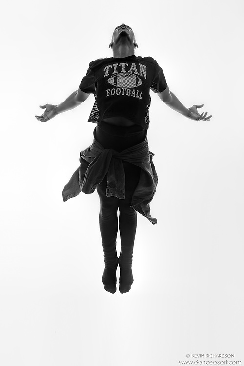 Black and white dance photography- Into The Light- featuring Dance As Art dancer Jarrett Rashad
