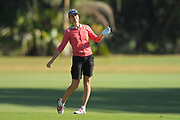 Silvia Cavalleri during the second round of the Symetra Tour's Florida's Natural Charity Classic at the Country Club of Winter Haven on March 11, 2017 in Winter Haven, Florida.<br /> <br /> &copy;2017 Scott Miller