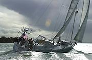 Moonshadow. Auckland Noumea race 5/6/2004   (© 2004 Chris Cameron)