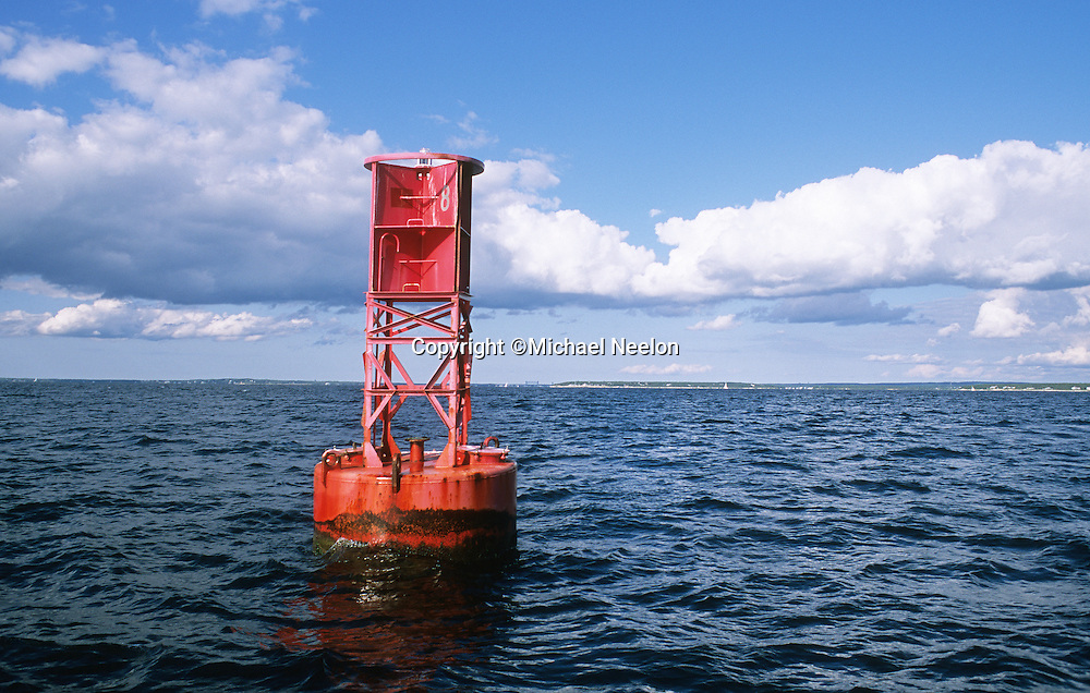 Buzzards Bay Cape Cod, Red Bell Buoy I