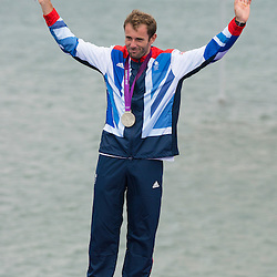 2012 Olympic Games London / Weymouth<br /> RSX Medal Ceremonies<br /> Dempsey Nick, (GBR, RS:X Men)