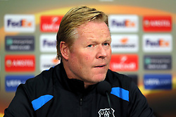 Everton manager Ronald Koeman during the press conference at Finch Farm, Liverpool.