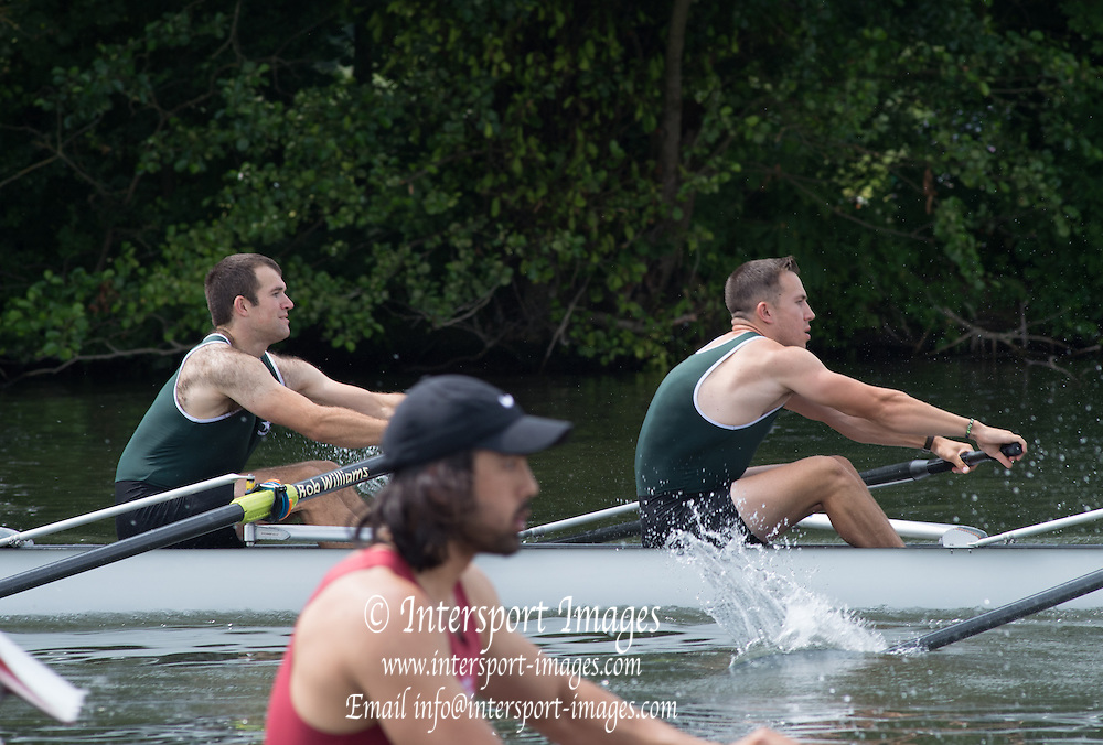 Henley. Great Britain. Wyfold Challenge Cup. Maidenhead RC. at the start.  175th  Henley Royal Regatta, Henley Reach. England. 11:36:57  Wednesday  02/07/2014. [Mandatory Credit; Peter Spurrier/Intersport-images]