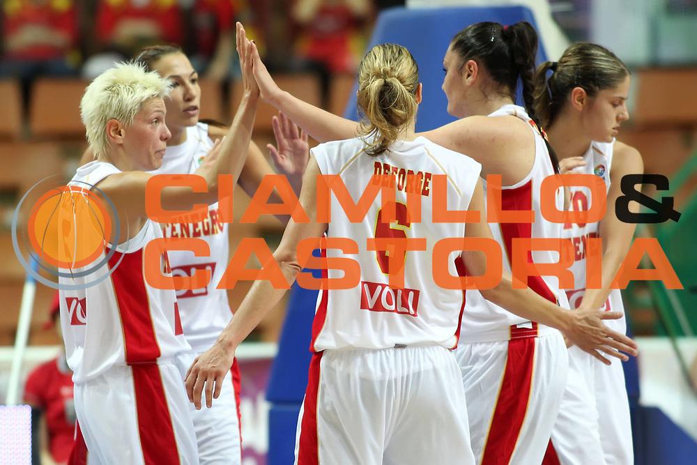 DESCRIZIONE : Katowice Poland Polonia Eurobasket Women 2011 Round 1 Montenegro Spagna Montenegro Spain<br /> GIOCATORE : Jelena Skerovic Anna De Forge Milka Bjelica Jelena Dubljevic Ana Turcinovic <br /> SQUADRA : Montenegro<br /> EVENTO : Eurobasket Women 2011 Campionati Europei Donne 2011<br /> GARA : Montenegro Spagna Montenegro Spain<br /> DATA : 19/06/2011<br /> CATEGORIA :<br /> SPORT : Pallacanestro <br /> AUTORE : Agenzia Ciamillo-Castoria/E.Castoria<br /> Galleria : Eurobasket Women 2011<br /> Fotonotizia : Katowice Poland Polonia Eurobasket Women 2011 Round 1 Montenegro Spagna Montenegro Spain<br /> Predefinita :