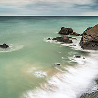 Stowe cliff rocks, Sandymouth, Cornwall, England