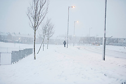 Heavy snowfall hits North Lanarkshire again this afternoon, Motherwell , Angie Isac | EEm Friday 19 January 2018