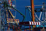 Steel Pier at Atlantic City, New Jersey - On a Beautiful Winter day